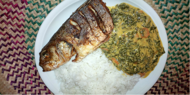 Mchicha - Spinat auf Swahili-Art